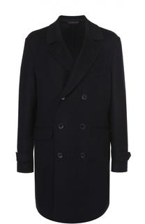 Кашемировое двубортное пальто Loro Piana
