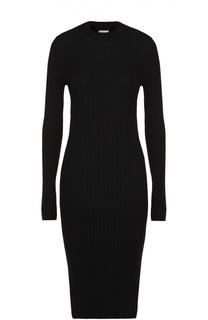 Облегающее платье-футляр фактурной вязки Maison Margiela