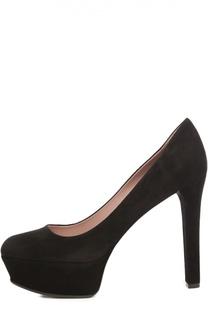 Замшевые туфли Leila Gucci