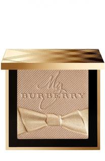 Парфюмированная сияющая компактная пудра, оттенок 02 Gold Shimmer Burberry