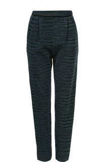 Укороченные брюки прямого кроя с защипами M Missoni