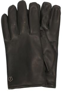 Кожаные перчатки с шерстяной подкладкой Z Zegna
