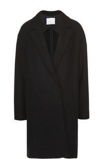Пальто прямого кроя со спущенным рукавом HUGO