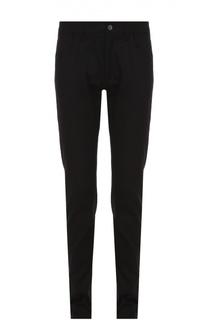 Хлопковые джинсы с заниженной линией шага Dolce & Gabbana
