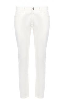 Зауженные джинсы с вышивкой на заднем кармане Dolce & Gabbana