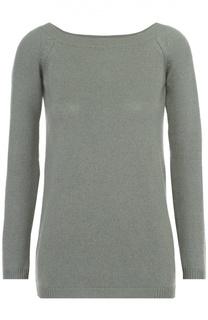 Кашемировый пуловер прямого кроя с вырезом-лодочка Valentino