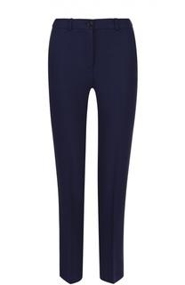 Укороченные брюки прямого кроя со стрелками Michael Kors
