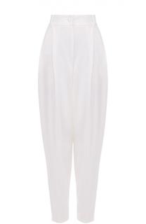 Укороченные брюки-бананы с защипами Dolce & Gabbana