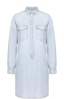 Джинсовое мини-платье с накладными карманами Denim&Supply by Ralph Lauren