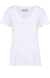 Хлопковая футболка прямого кроя с V-образным вырезом Denim&Supply by Ralph Lauren