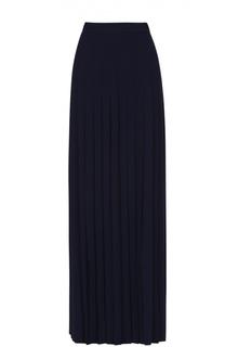 Плиссированная юбка-макси с высоким разрезом Michael Kors