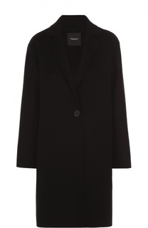 Пальто прямого кроя со спущенным рукавом Theory