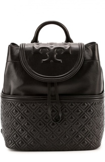 Кожаный рюкзак Fleming Tory Burch