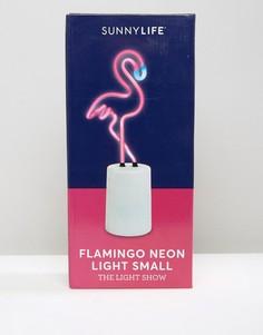 Неоновый светильник в форме фламинго Sunnylife - Мульти