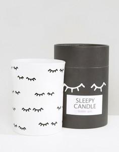 Свеча с ароматом жевательной резинки Monki - Белый