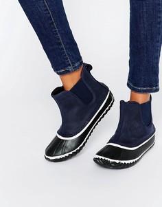Темно-синие ботинки челси Sorel Out N About - Темно-синий