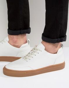 Кожаные кроссовки Zign - Белый