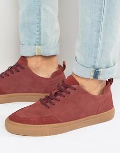 Замшевые кроссовки Zign - Красный