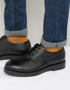 Кожаные туфли дерби Zign - Черный