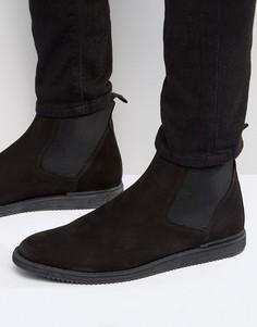 Ботинки челси из нубука Zign - Черный