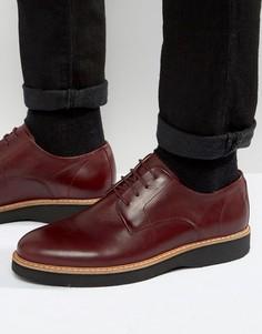 Кожаные туфли дерби Zign - Красный