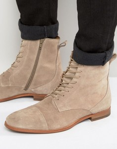 Замшевые ботинки на шнуровке Zign - Stone