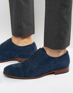 Замшевые оксфордские туфли ALDO Aalian - Темно-синий