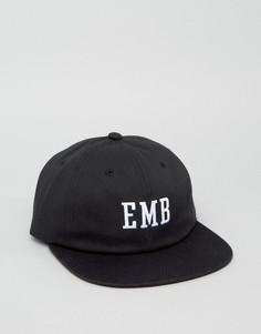 6-панельная кепка HUF Embarcadero - Черный