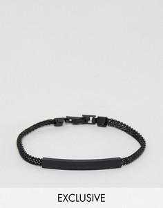Черный браслет-цепочка DesignB - Черный