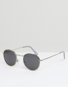 Круглые солнцезащитные очки Jeepers Peepers - Серый