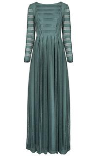 платье в пол La Reine Blanche