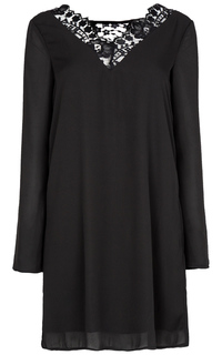 платье с кружевом Tom Tailor