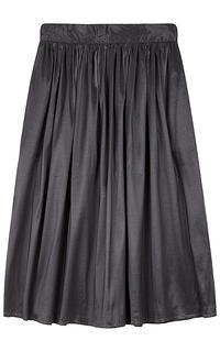 атласная юбка La Reine Blanche