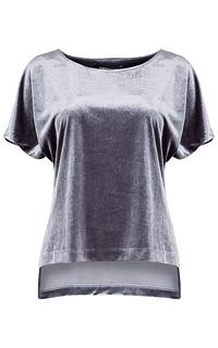 бархатная блузка La Reine Blanche