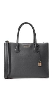 Объемная сумка с короткими ручками Mercer Michael Michael Kors