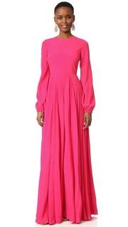 Длинное платье с рукавами No. 21