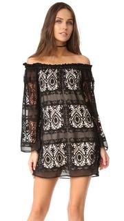 Мантилья платье со спущенными плечами LIV