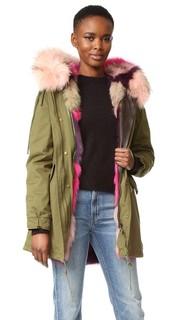 Jenny Rose меланж парка Mila Furs