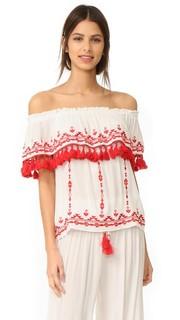 Блуза с песчаный Parker