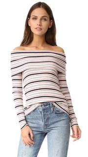 Пуловер в полоску Rib Splendid