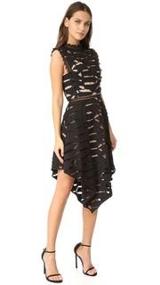 Платье с Ascot Acler