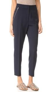 Идеально скроенный брюки с карманами на молнии Alexander Wang