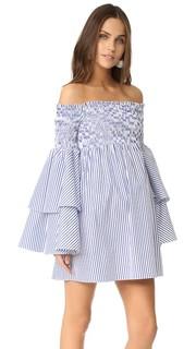 Аполлония платье с открытыми плечами Caroline Constas