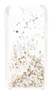 7 Чехол для iPhone с жидкое блестящие Voila Kate Spade New York