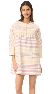 Мини-платье на пуговицах спереди Mara Hoffman
