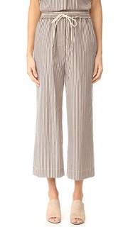 Полосатые брюки на завязке 3.1 Phillip Lim