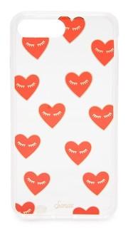 Модные 7 И чехол для iPhone Heart Sonix