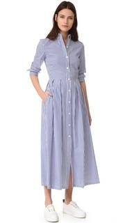 Платье в полоску Stella Jean
