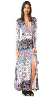 Разрезами, это платье макси-платье Yumi Kim