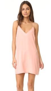 Платье-комбинация бархатный Kendall Amanda Uprichard